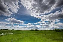 Wolkenlandschaften von naturlichtfarben