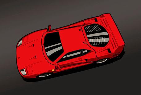 Ferrari-f40-poster