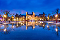 Rijksmuseum - Amsterdam von Andreas Sawatzky