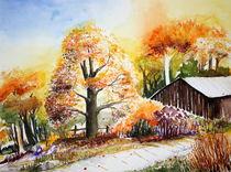 Herbstbild von Inez Eckenbach-Henning