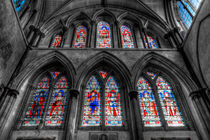 Rochester Cathedral Stained Glass Windows by David Pyatt