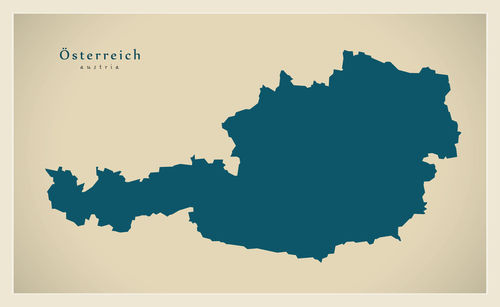 Modern-map-at-oesterreich