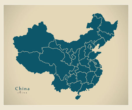 Modern-map-cn-china-with-provinces