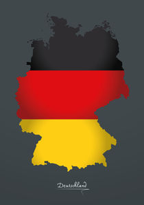 Germany Map Artwork Special Edition