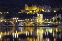 Heidelberg@night von Patrick Lohmüller