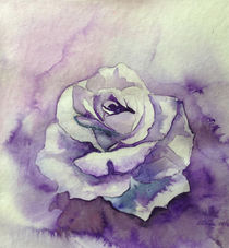"Ton in Ton Zeichnung Rose by Dorothea ""Elia"" Piper"