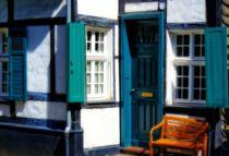 Fachwerkeingang von Peter Hebgen