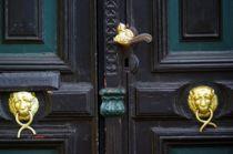 Alte Türe 2 von Peter Hebgen
