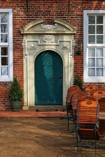 Eingang zum Gartencafe von Peter Hebgen