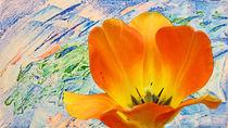 Tulipan - in der Malwerkstatt von Hartmut Binder