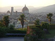 Piazzale Michelangelo, Florenz von Steffanie Reimann