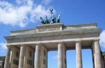 Brandenburger Tor, Berlin by Steffanie Reimann