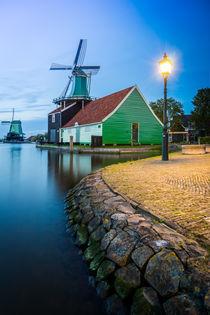 Windmühle in Zaanse Schans von Patrick Klatt