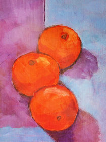 Tres naranjas von arte-costa-blanca