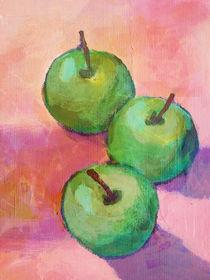 Tres manzanas by arte-costa-blanca