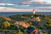 Lighthouse during sunset in Landsort von movgroovin