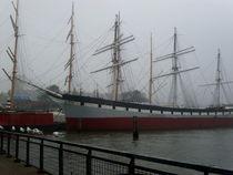 New York Hafen im Nebel by Steffanie Reimann