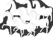 Horses by Elisaveta Sivas
