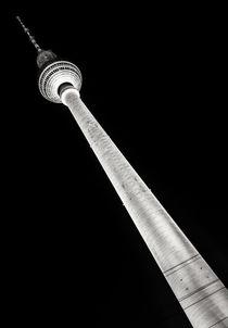 Berliner Fernsehturm I schwarzweiß von elbvue von elbvue