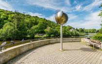 Kreuznacher Roseninsel-Sonnenskulptur von Erhard Hess