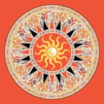 Sunshine mandala by Gaspar Avila