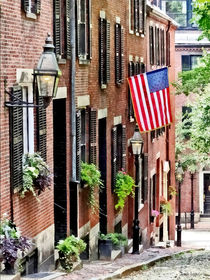 Boston MA - Acorn Street von Susan Savad