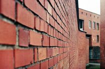 Red brick postmodern by Gytaute Akstinaite