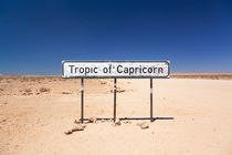 Namibia Tropic of Capricorn, Highway C14, near Goab Pass by kytefoto