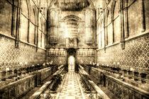 Rochester Cathedral Vintage by David Pyatt