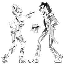 Tango Argentino - Milonga Buenos Aires von nacasona