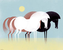 Three Horses von Benjamin Bay