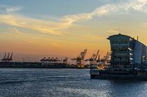 Hamburger Hafen  von fotolos