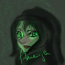 Green Eyes by arenja
