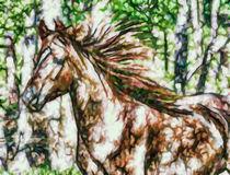 A beautiful brown horse von lanjee chee