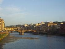 Flussufer, Florenz  by Steffanie Reimann