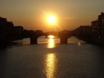 Sonnenuntergang in Florenz  by Steffanie Reimann