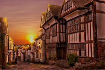 Sunset On Mermaid Street by Dave Godden