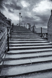 'Church Steps, Whitby' von Archaeo Images