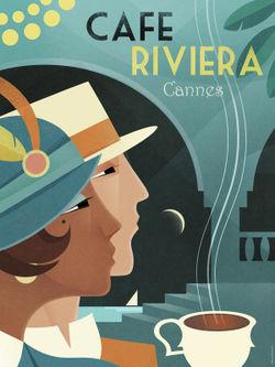 Cafe-riviera-18x24
