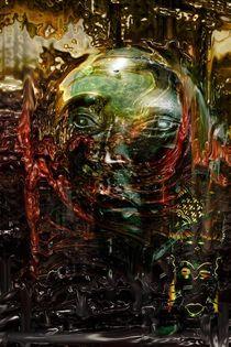 ZEITUNGEIST Portrait I von David Renson