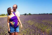 Lavender Fields for Maternity Pictures von Víctor Bautista