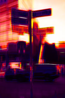 'Straßenverkehr am Potsdamer Platz ' von Bastian  Kienitz