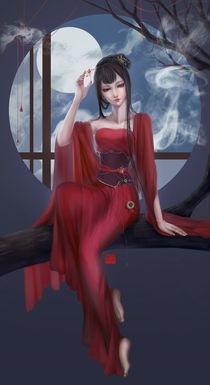 Beautiful Female Ghost von Henela White