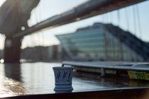 Segeln auf der Elbe von Borg Enders