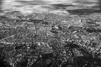 Aerial View Of Bucharest City In Romania by Radu Bercan