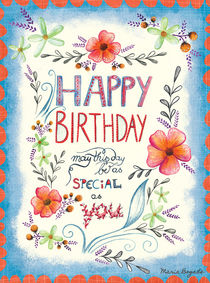 Happy Special Birthday by Maria Bogade