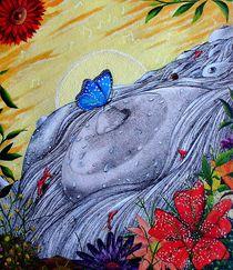 Blauer Schmetterling von jefroh
