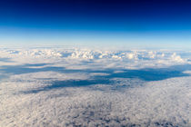 Aerial View Of Planet Earth As Seen From 40.000 Feet Altitude von Radu Bercan