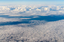 Aerial View Of Planet Earth As Seen From 40.000 Feet Altitude by Radu Bercan