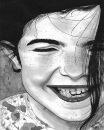 Smiling Girl von Luiz Rosa
